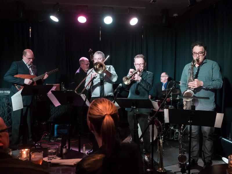 w. Dave Robbins Sextet at Frankie's Jazz Club